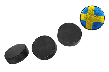 Swedish hockey pucks