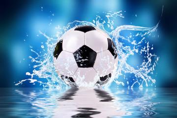 soccer splash - fototapety na wymiar