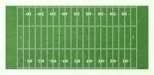 football field green paper