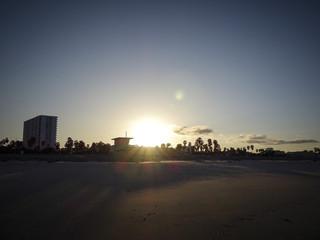 Santa Monica Beach, Los Angeles Kalifornien, USA