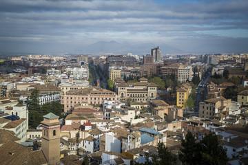 Granada vista del centro