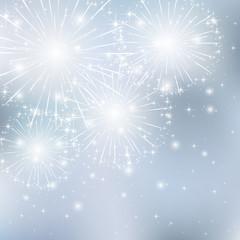 Starry firework