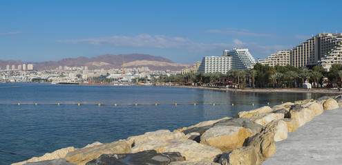 Eilat is a famous resort and recreation city in Israel