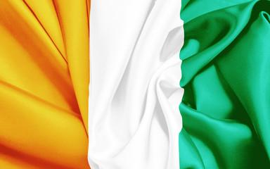 Flagge der Elfenbeinküste