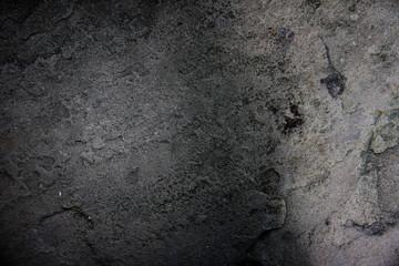 dark stone wall.