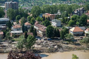 Flood In 2014 Maglaj - Bosnia And Herzegovina