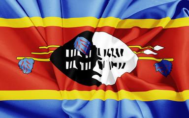 Fahne von Swasiland