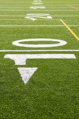 View of 10 yard line