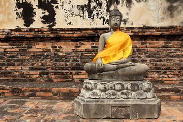 Budha statue in Ayutthaya