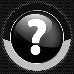 Question mark web icon background
