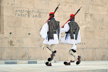 Canvas Prints Athens Evzoni guard