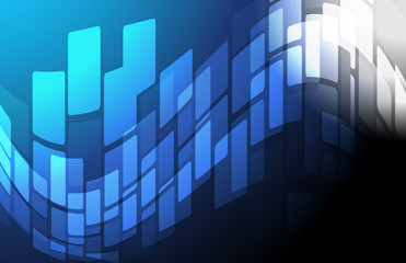 blue Abstract technology background illustration