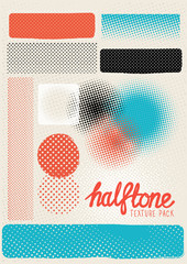 Vector Halftone Texture Pack