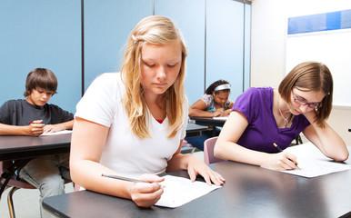 High School Class Test