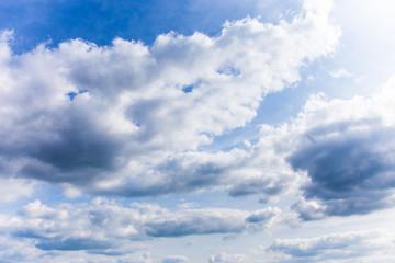 Himmel mit Wolken 2