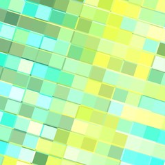Highkey Bright Background Neon Colors - Turquoise Yellow Tiles