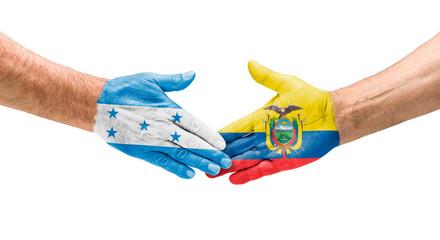 Handshake Honduras und Ecuador