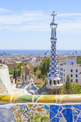 Foto op Canvas Barcelona park guell in barcelona