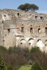 Former Marine jetty. Pompeii. Italy