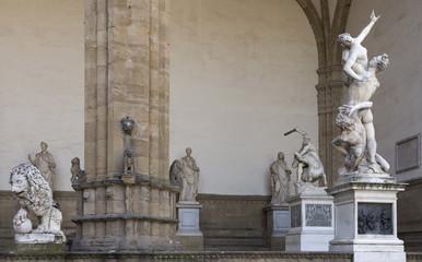 Loggia dei Lanzi.Florence,Italy