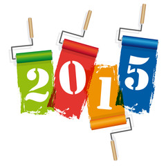 2015-Rouleaux de peinture