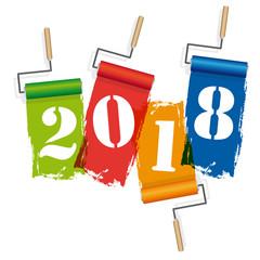 2018-Rouleaux de peinture