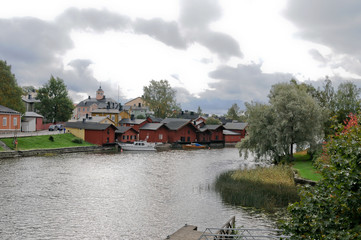 Old town of Porvoo