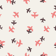 seamless background: plane