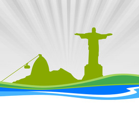 Skyline Zuckerhut Rio