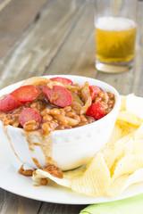 Hawaiian Pork and Beans