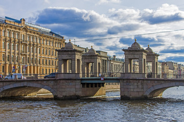 St. Petersburg, Russia. Fontanka River Embankment