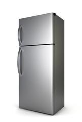 Steel fridge