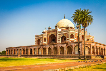 Photo sur Plexiglas Delhi Humayun Tomb