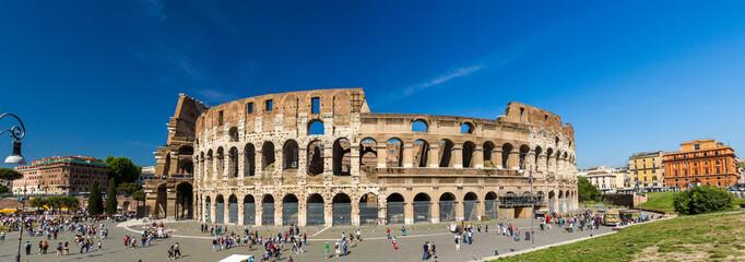 Flavian Amphitheatre (Colosseum) in Rome, Italy