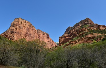 Kolob Canyon in Utah, United States of America.