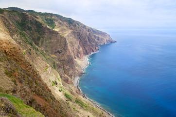 Ponta do Pargo south coastline, Madeira