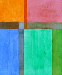a minimalist abstract painting