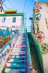 Valparaiso stairs