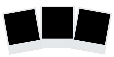 photo frames isolated