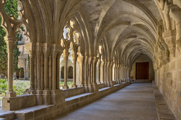 Poblet Monastery - Catalonia - Spain Wall mural