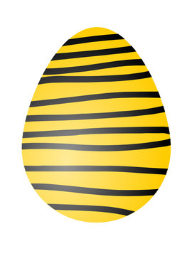 Yellow Zebra (Easter Egg)