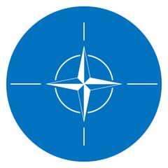 NATO flag button