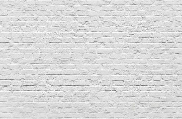 Photo sur Plexiglas Brick wall White brick wall