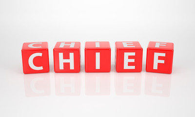 Chief out of red Letter Dices