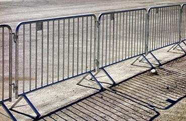 mobile steel fence