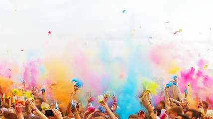 Colorful life - holi party