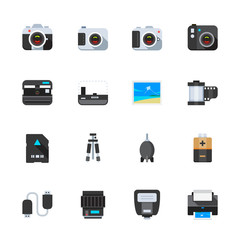 Camera and Camera Accessories Icons