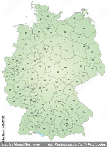Zip/Postal Code Für Deutschland