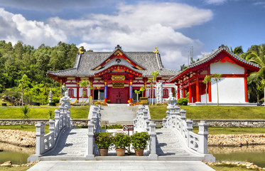 Red House in china's traditional stile