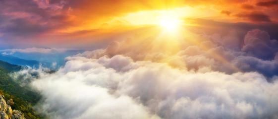 Aluminium Prints Heaven Небеса